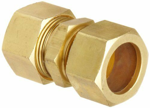 Anderson metals brass tube fitting union quot