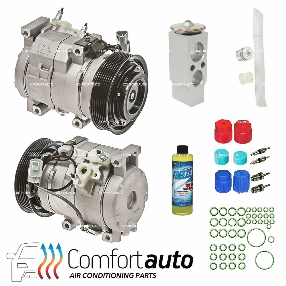 new a c ac compressor kit fits 2002 2006 toyota camry l4 2 4l 4 cylinder only ebay. Black Bedroom Furniture Sets. Home Design Ideas