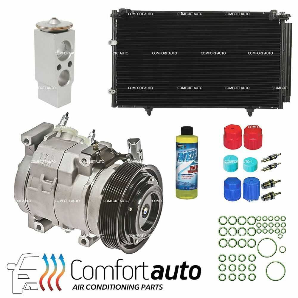 new a c ac compressor kit fits 2002 2006 toyota camry. Black Bedroom Furniture Sets. Home Design Ideas