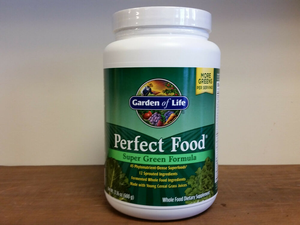 Perfect Food Super Green Formula 21.16 oz(600 grams)Whole Food ...