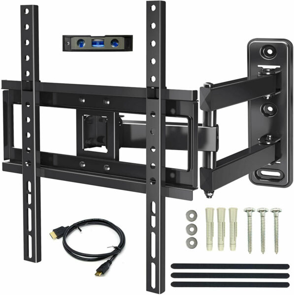 Full Motion Tilt Swivel TV Wall Mount 32 37 39 42 46 48 50 55 60