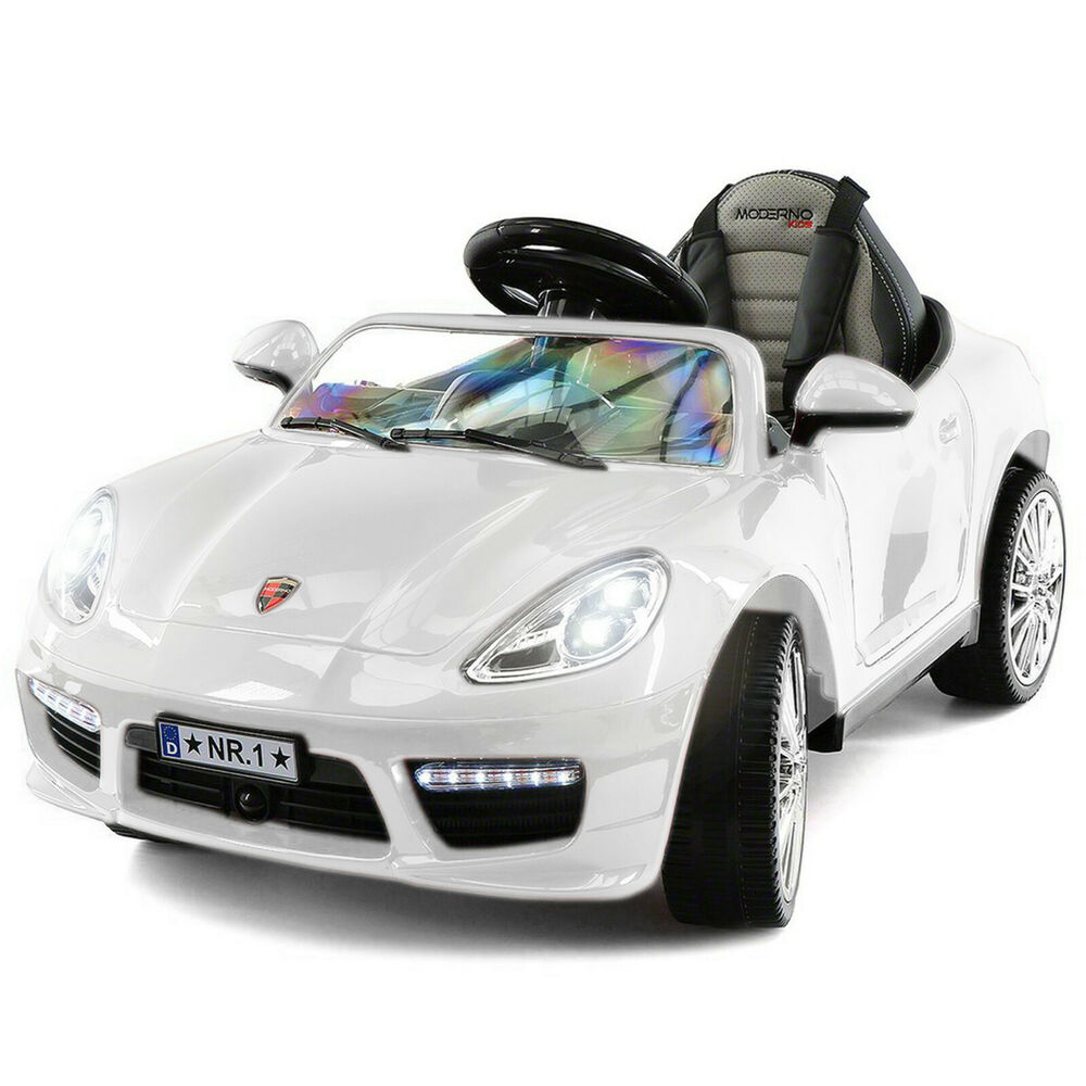 Luxury Moderno Kids 12v Ride On Sports Car Battery Power