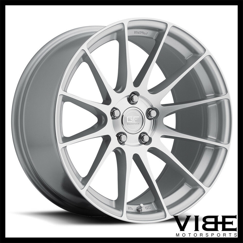 "Lexus Rcf 2015 Price: 20"" MRR GROUND FORCE GF6 SILVER CONCAVE WHEELS RIMS FITS"