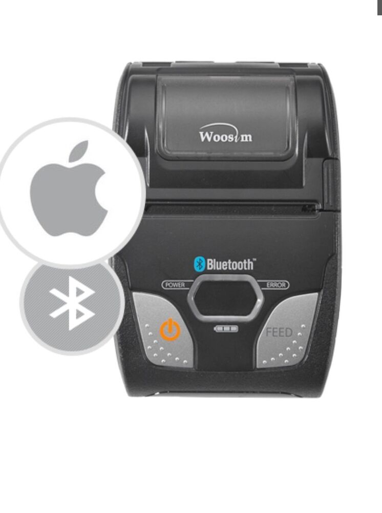 Paypal Mobile Card Reader >> R241 Wireless Bluetooth Thermal Printer - PayPal Here ...