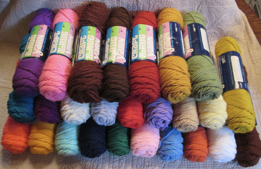 100 Cotton Rug Yarn