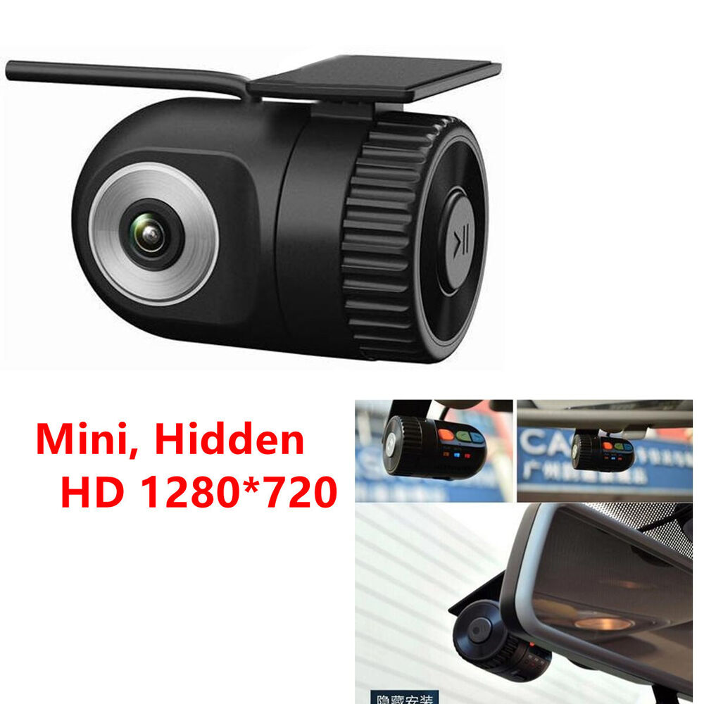 full hd 1280 720 hidden car camera dvr dash video driving recorder 360 rotatble ebay. Black Bedroom Furniture Sets. Home Design Ideas