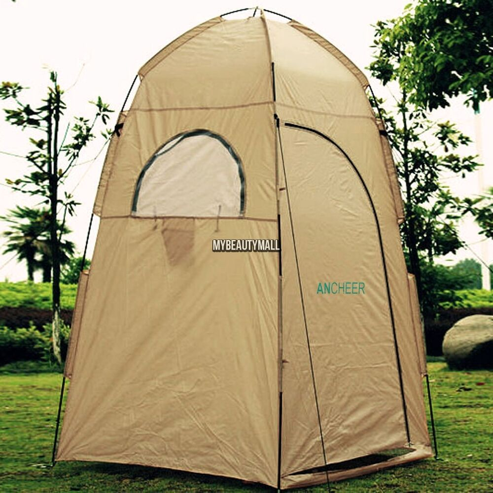 Portable Privacy Shelter For Boats : Portable outdoor camp tent privacy bath shower shelter
