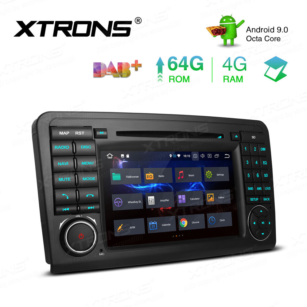Android 7 1 car radio dvd gps system 7 stereo for for Mercedes benz navigation system
