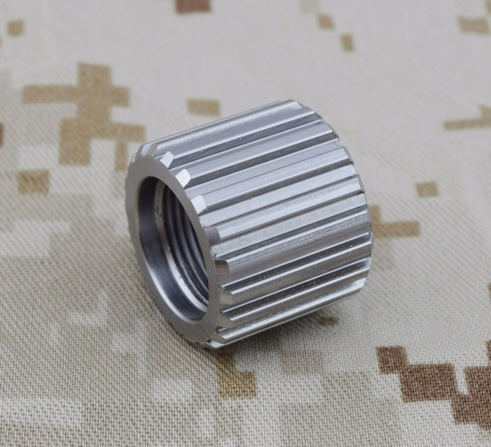 Bull barrel thread protector made in usa