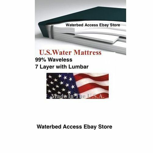 King Softside Waterbed Mattress Replacement Bladder 99