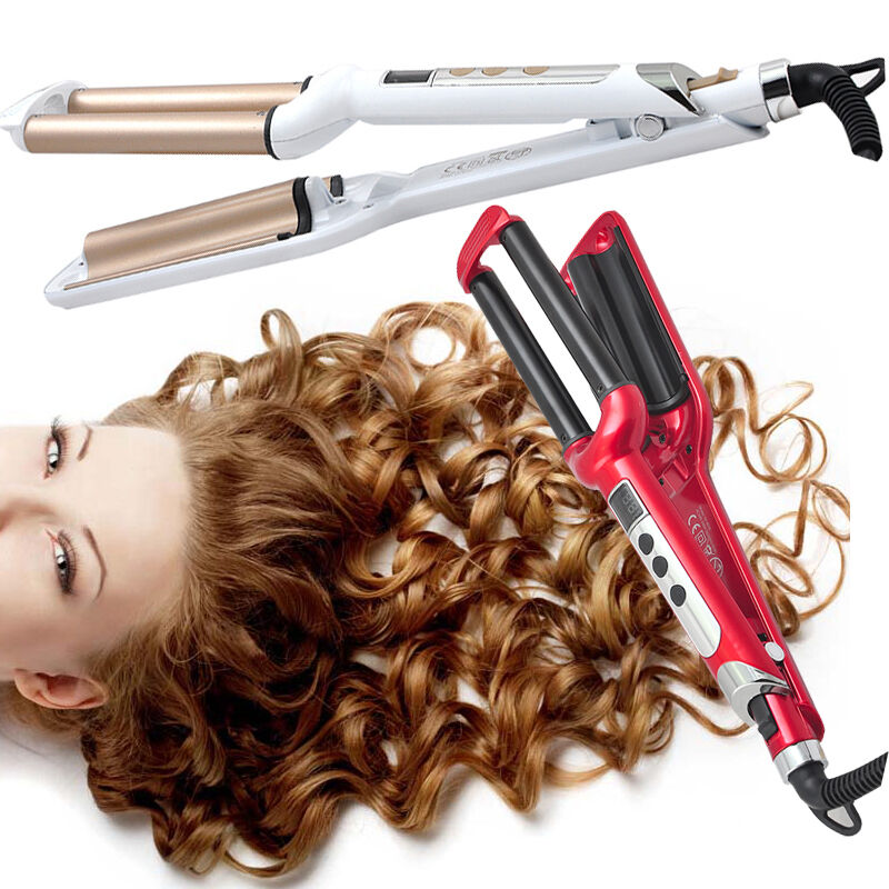 New 220v Deep Waver Iron Curling Wave Ceramic Styler
