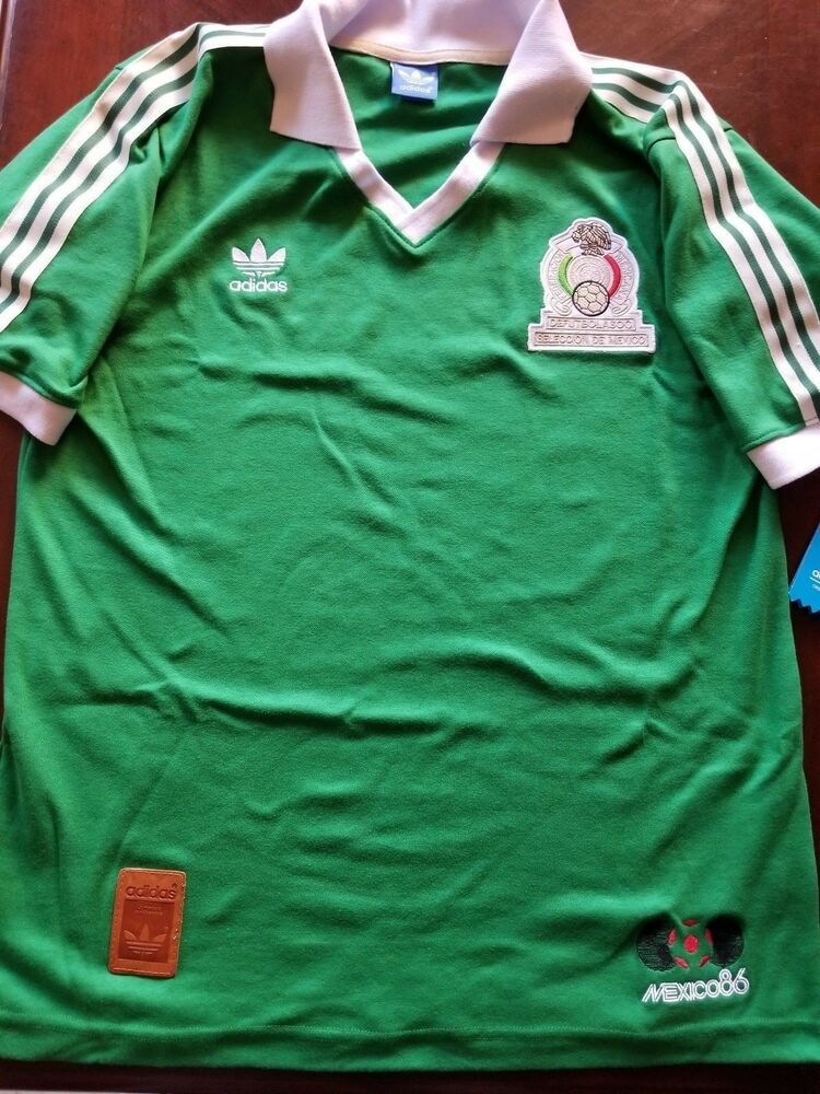 Details about Adidas Mexico 86 Jersey Mundial Rusia 2018 Fifa World Cup  Russia Chivas America 7fd2cbb871393