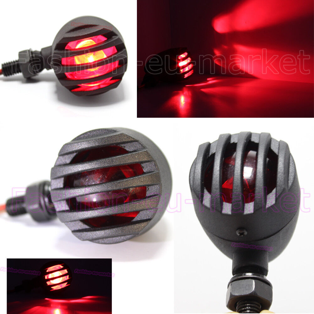 2xblack motorcycle led turn signals mini bullet blinker. Black Bedroom Furniture Sets. Home Design Ideas