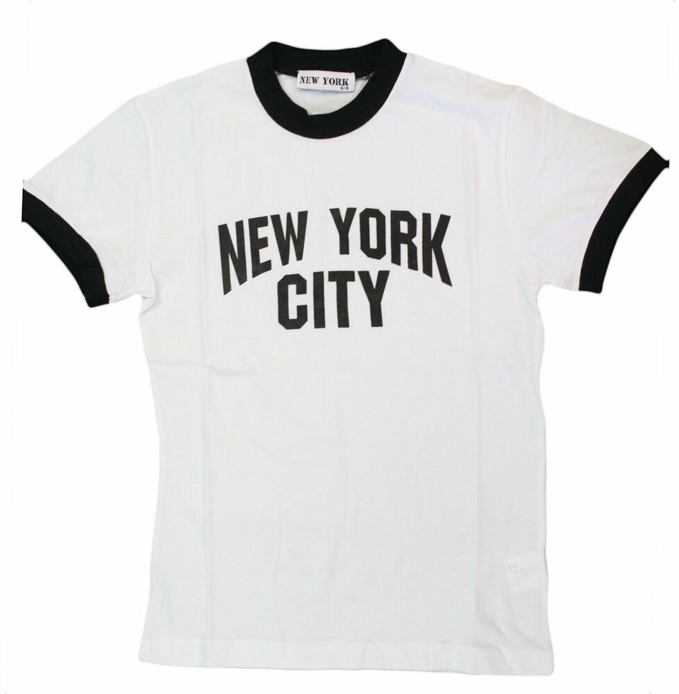 New York City Kids John Lennon Ringer Nyc Boys Beatles T