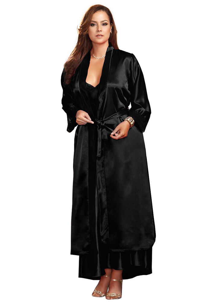 New liquid satin long night dress 1