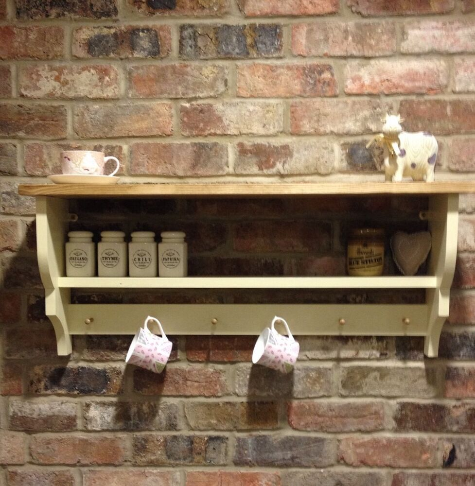 shabby chic country kitchen cabinet shelf unit wall unit. Black Bedroom Furniture Sets. Home Design Ideas