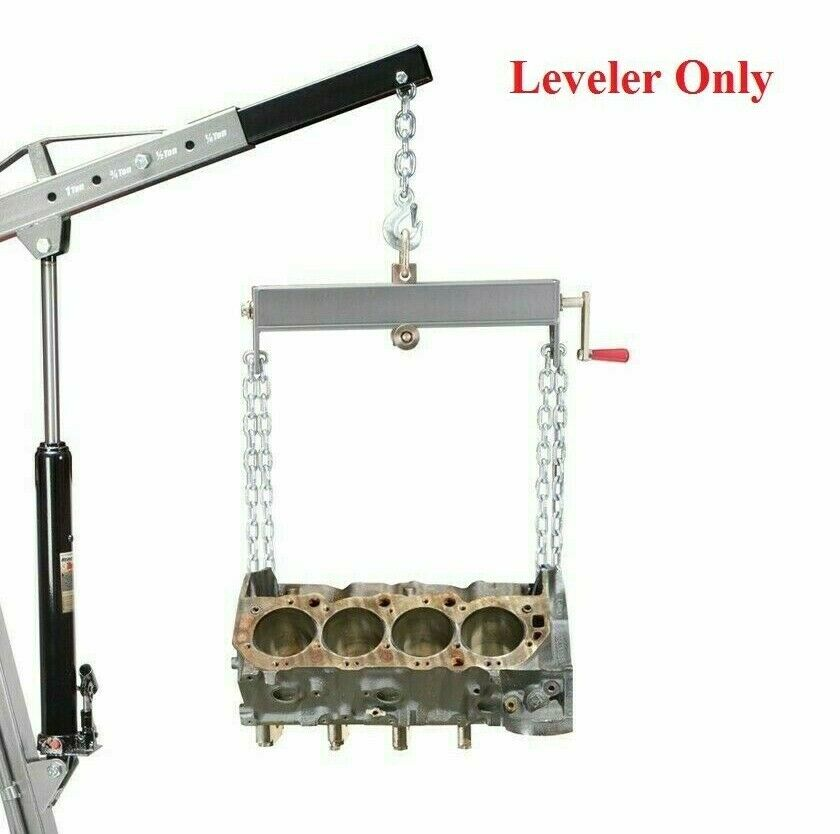 ton load leveler lb  engine hoist shop crane jack lift  shipping  ebay