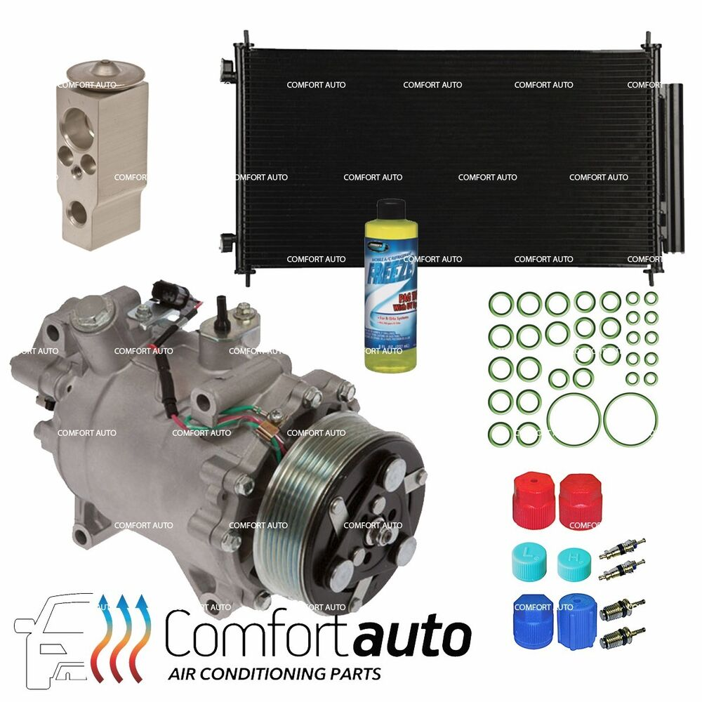 New AC A/C Compressor & Condenser Kit Fits: 2007