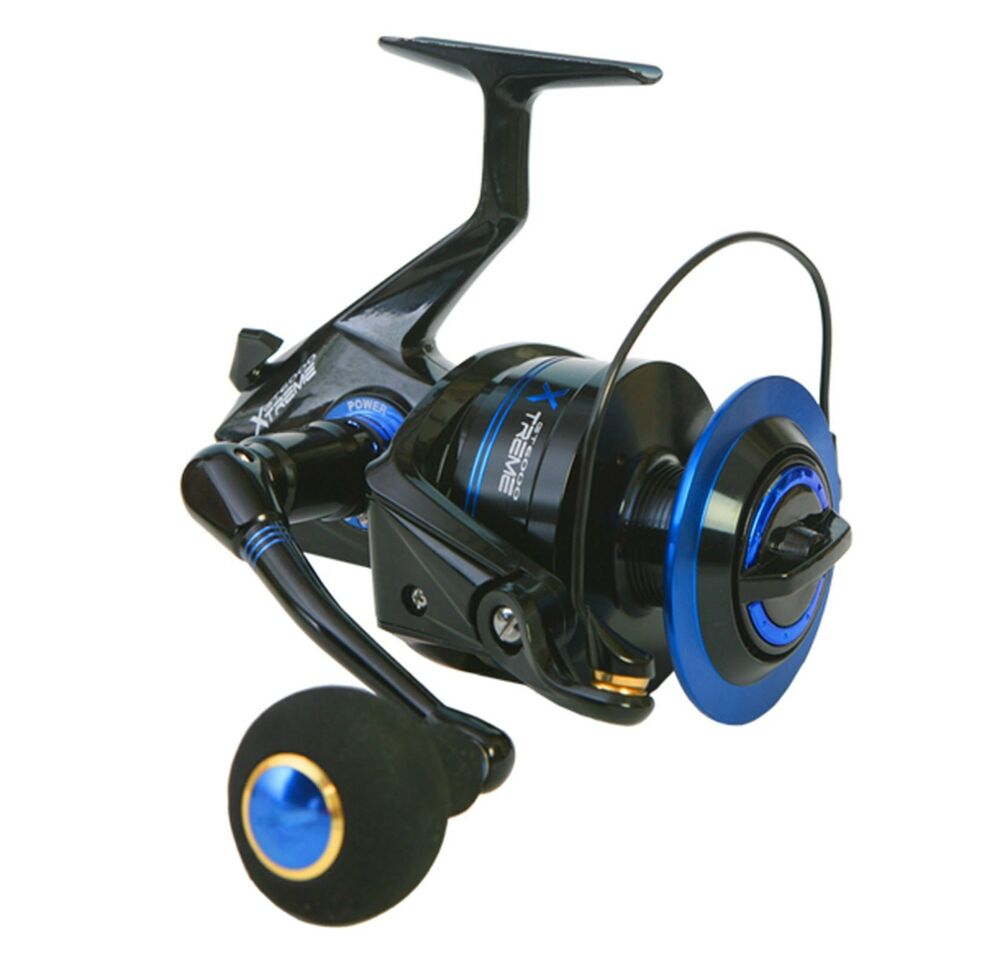 Banax gt6000 extreme s spinning reel ems ebay for Ebay fishing reels