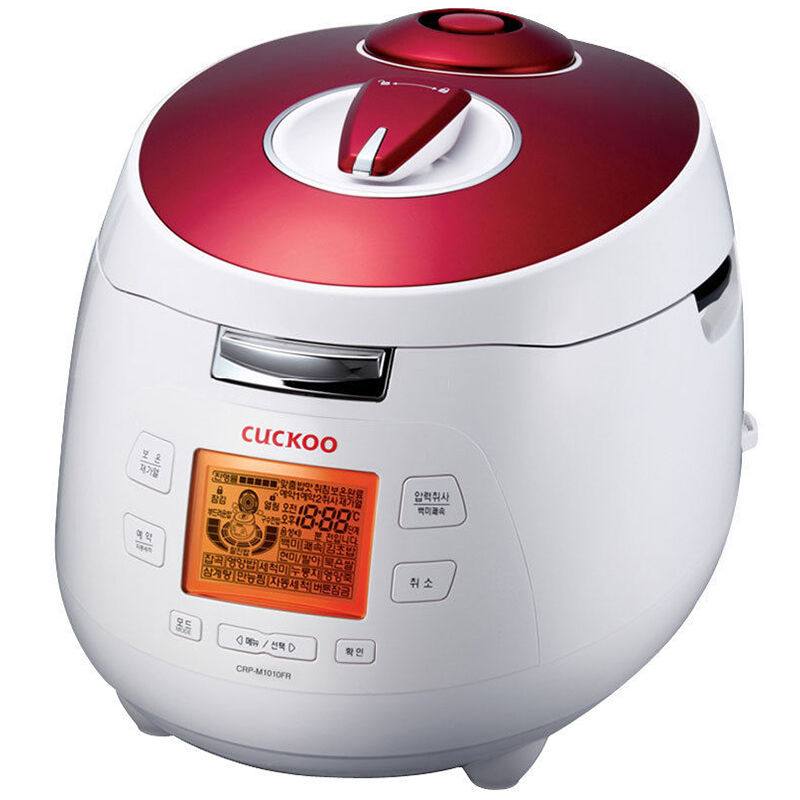 CUCKOO CRP-M1010FR Electric Pressure Rice Cooker Free