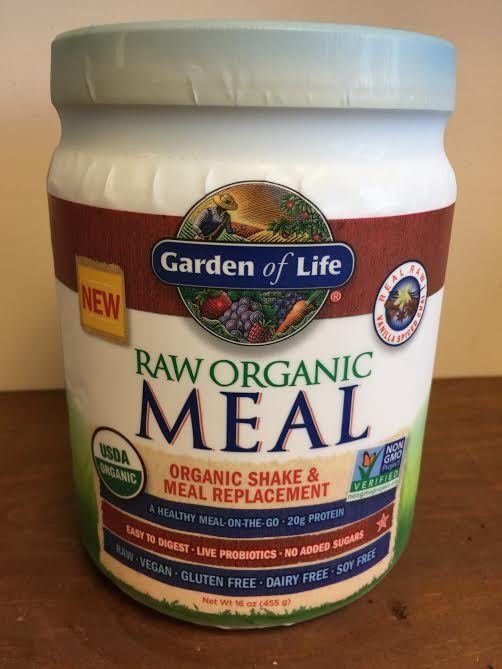 Garden Of Life Raw Organic Meal Shake Vanilla Spiced Chai 16 Oz 455g New Ebay