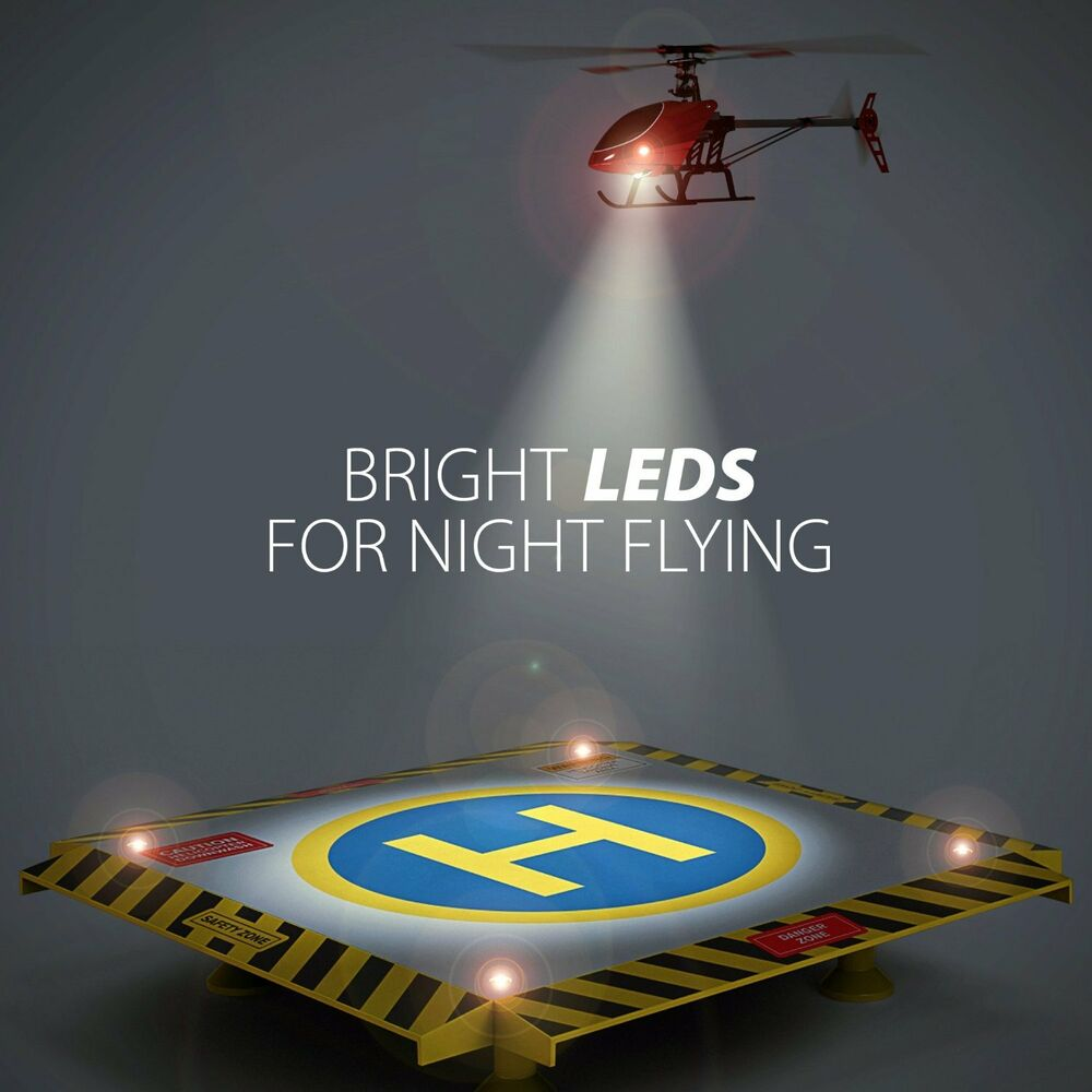 Remote Control Helicopter Landing Pad W Lights Rc