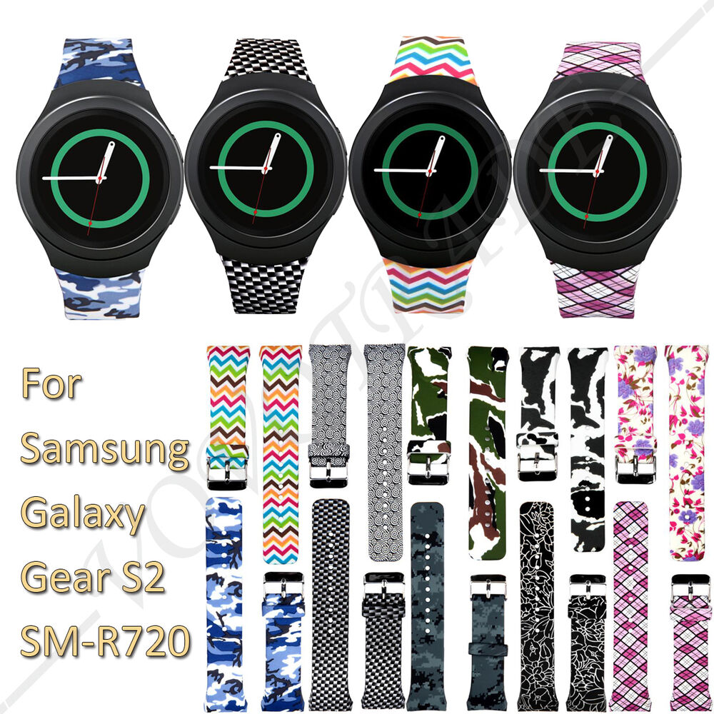Luxury TPU Silicone Watch Band Strap For Samsung Galaxy ...