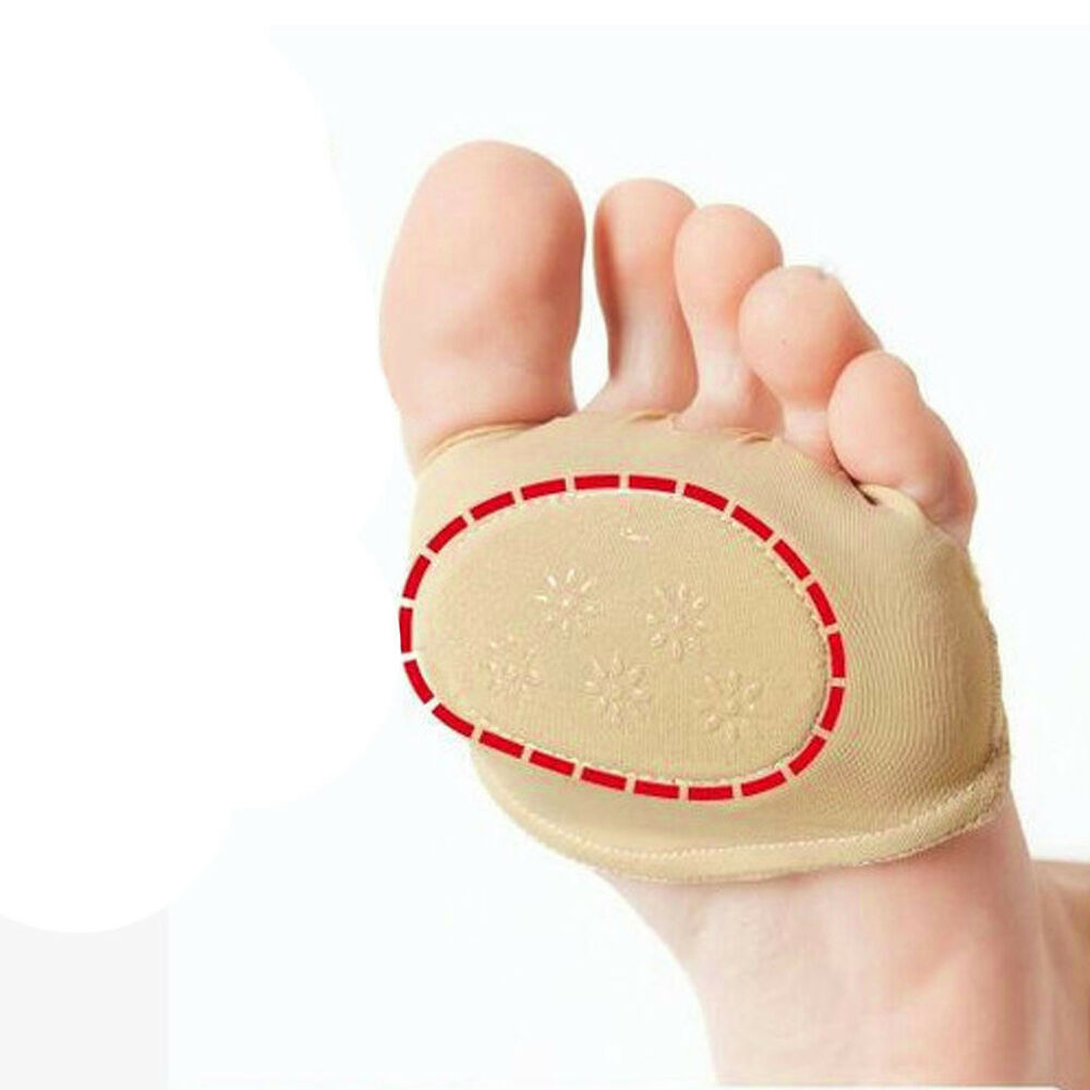 Ball Of Foot Pain Relief Pads Cushion Forefoot Metatarsal