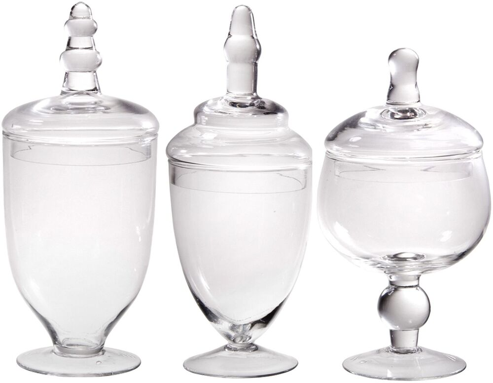 Clear Glass Containers With Lids