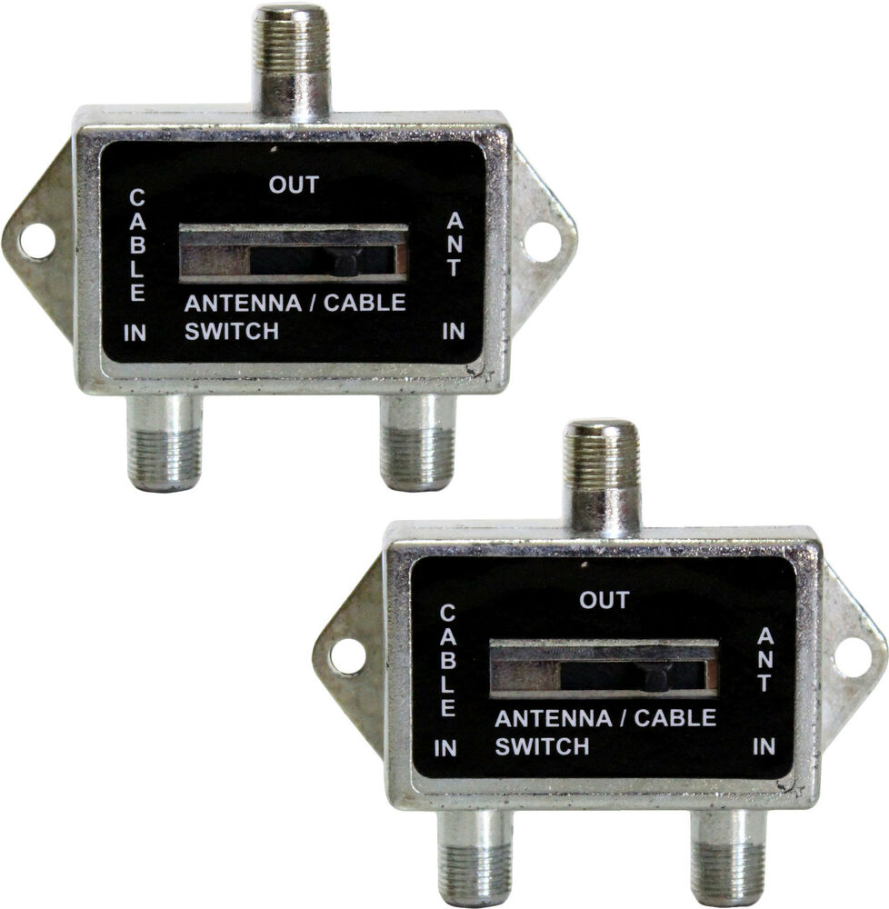 Three Way Cable Switcher : Lot of a b coaxial way switch antenna cable