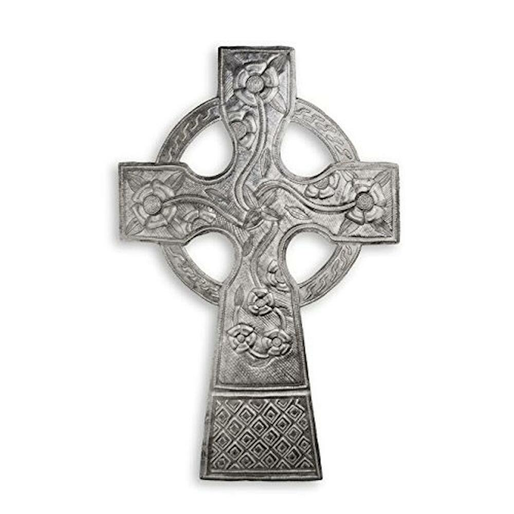 Details About Handmade Haitian Metal Art 17 Celtic Religious Cross Grillwork Accents Outdoor