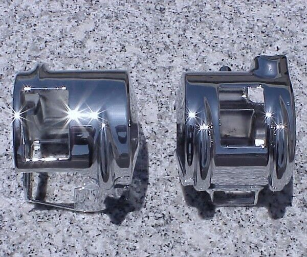 2002 2008 honda vtx 1800 chrome switch covers ebay. Black Bedroom Furniture Sets. Home Design Ideas