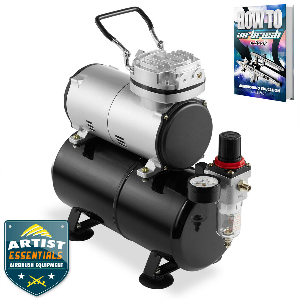 air compressor tank airbrush compressor with tank 1 5hp ebay 11042