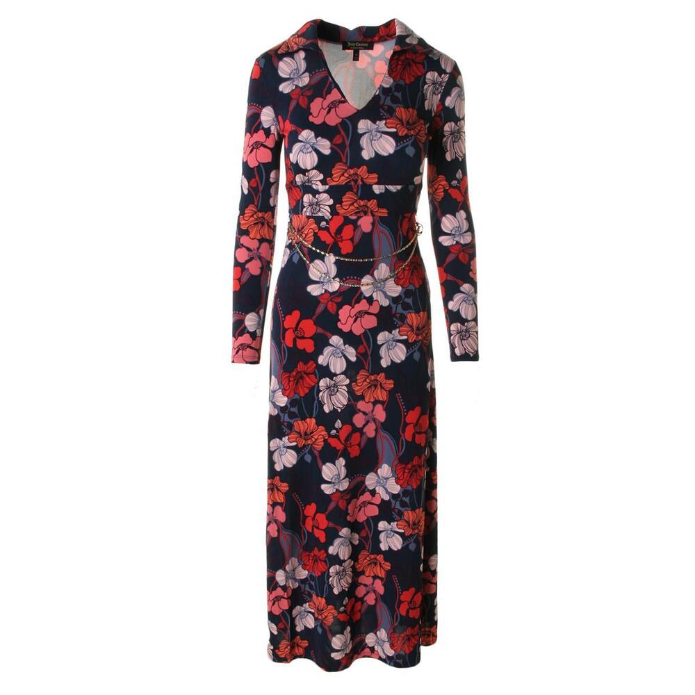 Juicy couture black label 5383 womens maxi floral print for Couture labels