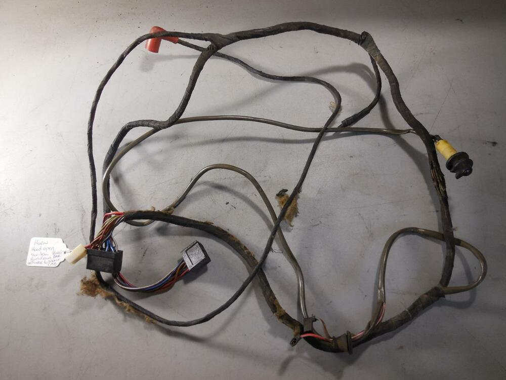 s l1000 80 porsche 928 wiring harness right fender horn hood switch wiring porsche 928 wiring harness at cos-gaming.co