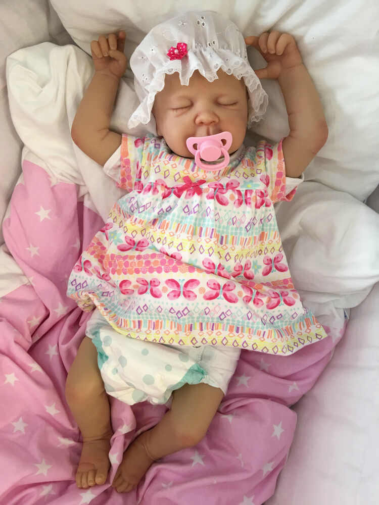 CHILDRENS REBORN DOLL REAL BABY GIRL JESS REALISTIC 22 ...