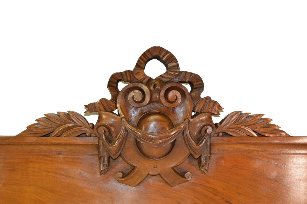 Antique french carved pediment french architectural for Antique door decoration