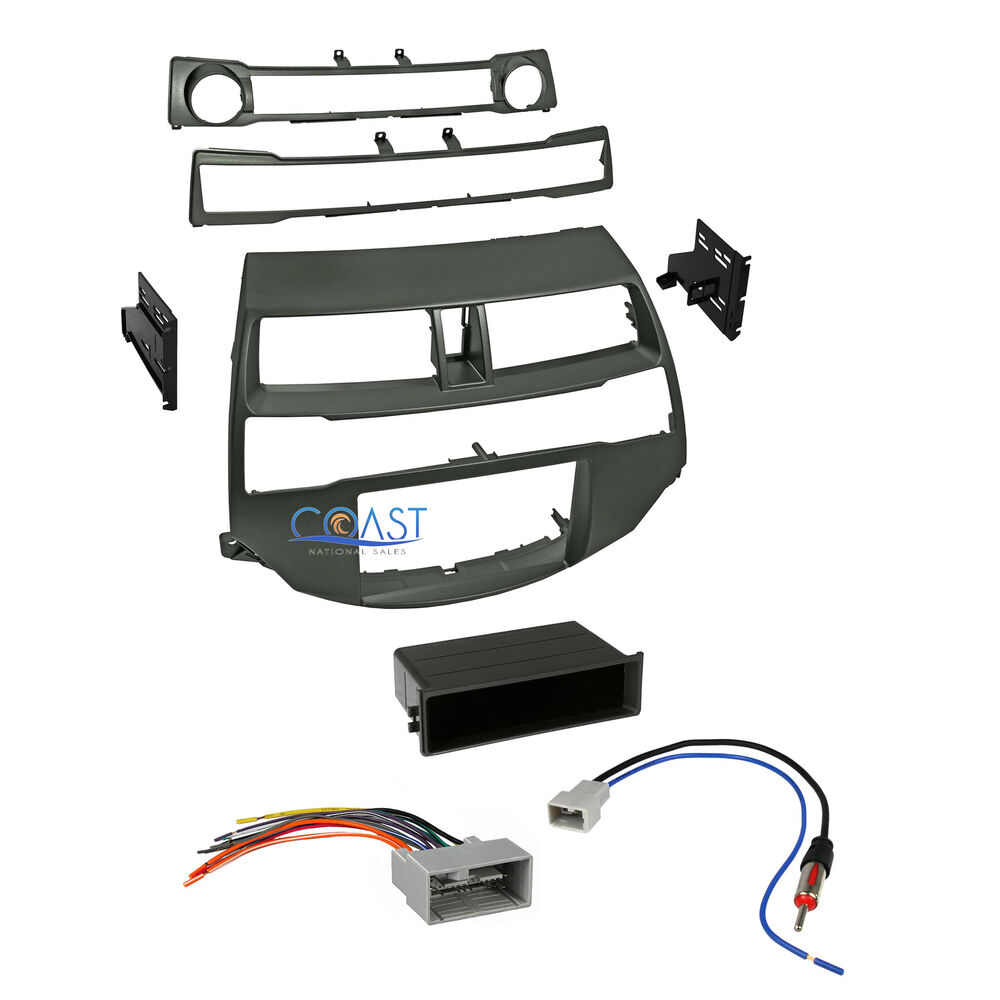 car radio stereo install dash kit harness antenna for 2008