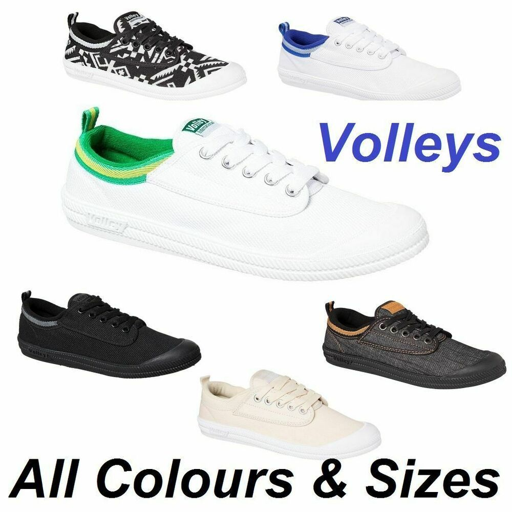 Volley International Shoes Leather White