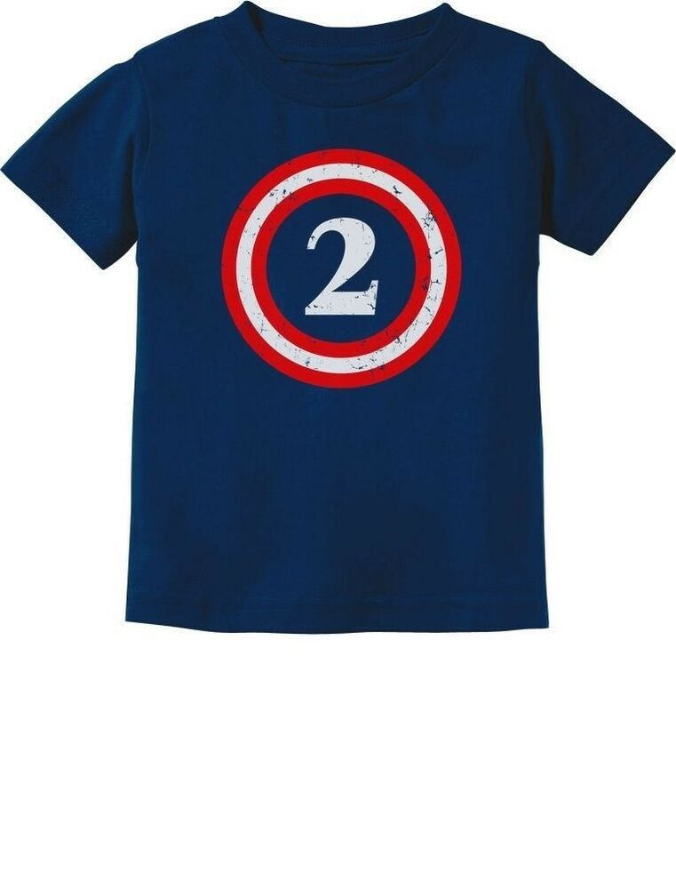 Captain 2nd birthday gift for two years old toddler for Cool t shirts for 12 year olds