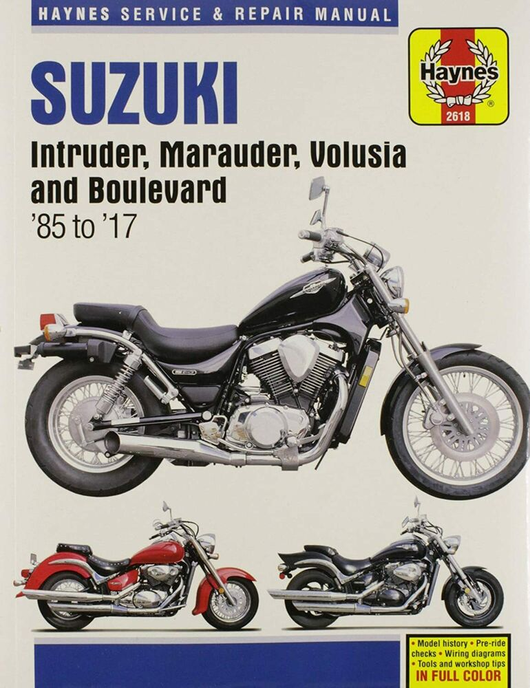 suzuki intruder volusia marauder 700 750 800 boulevard c50 m50  at Color Wire Diagram For A 1995 Suzuki Intruder 800