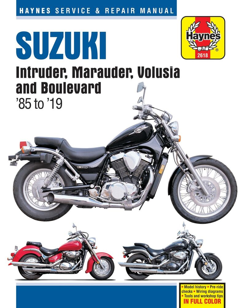 details about suzuki intruder volusia marauder 700 750 800 boulevard c50  m50 repair manual