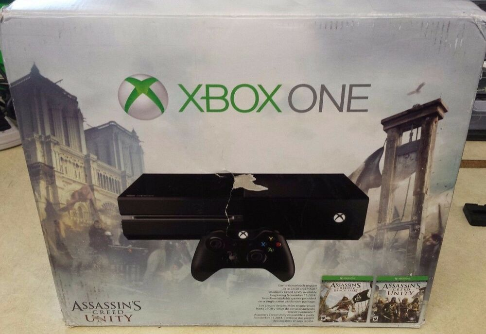 Gb xbox one assassin s creed unity bundle like new