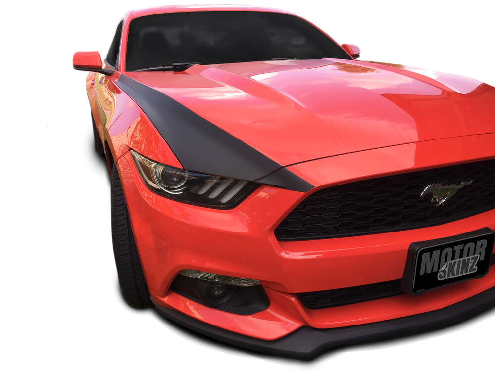 2015 2016 2017 Ford Mustang Outer Hood Stripes Vinyl Decal