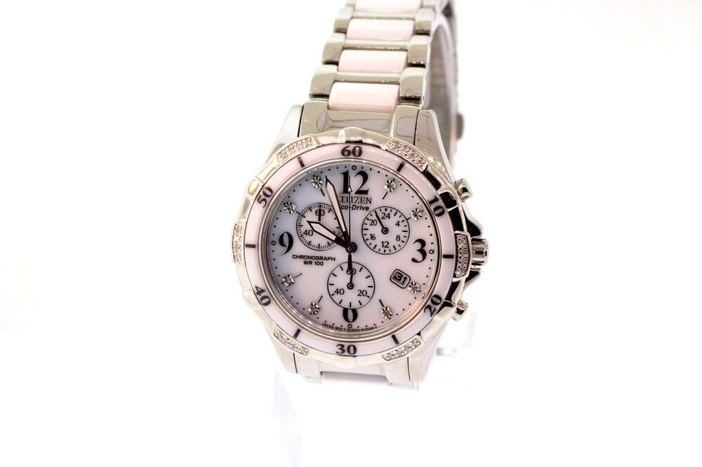 Ladies Citizen Fb1230 50a Eco Drive Stainless Steel