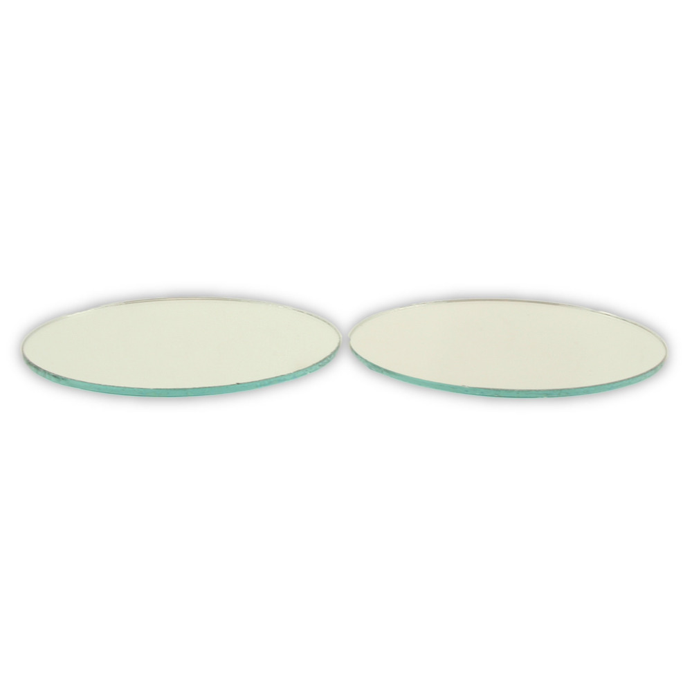 Small Mirror Pieces: 3 Inch Glass Small Round Mirrors 18 Pieces Mosaic Mirror