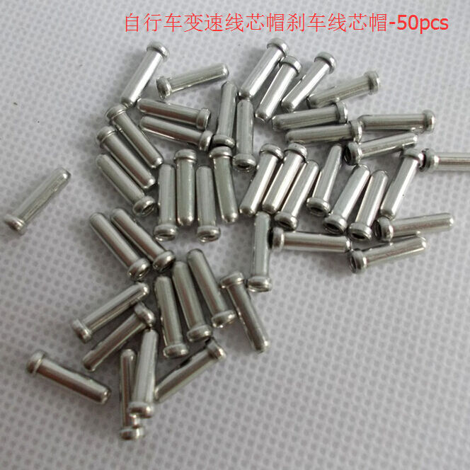 100 x Bike Bicycle Brake Gear Inner Cable End Caps ...