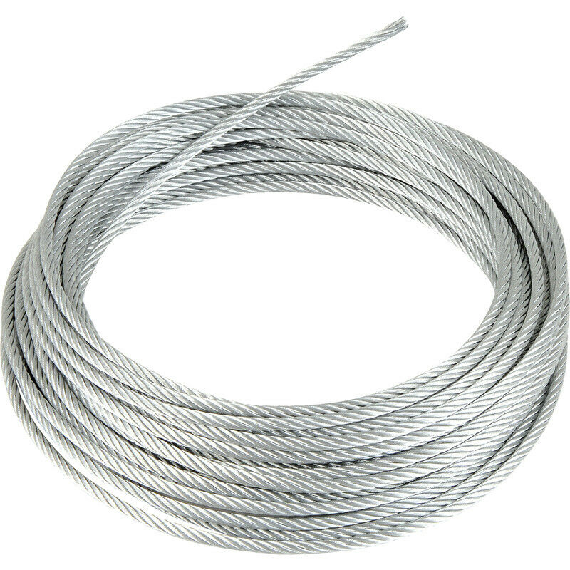 Wire Cable | Stainless Steel Wire Rope Cable 1mm 2mm 3mm 4mm 5mm Free Delivery Ebay