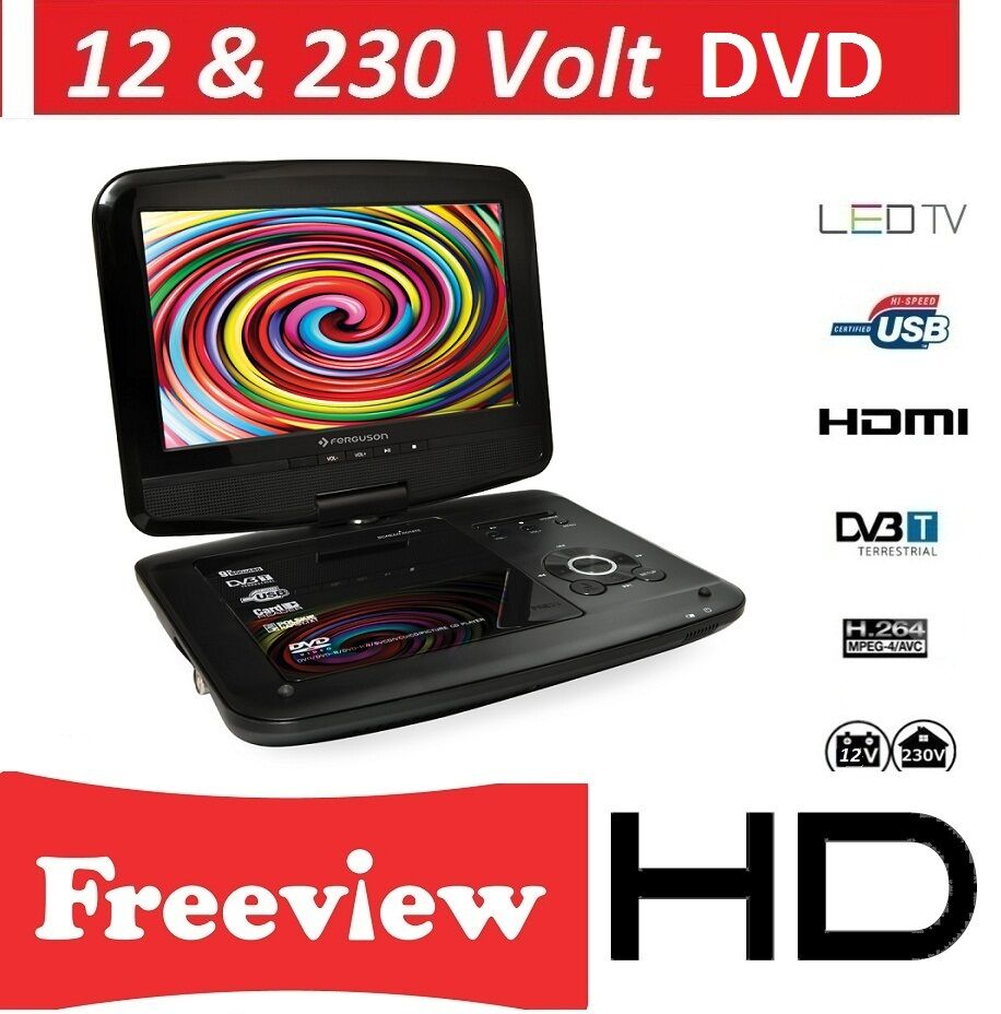 Portable Tv With Freeview And Dvd Portable Toddler Travel Bed Portable Public Urinal Portable Satellite Tv Near Me: PORTABLE DVD PLAYER WITH TV IDEAL FOR CARAVAN ,TRUCK DivX