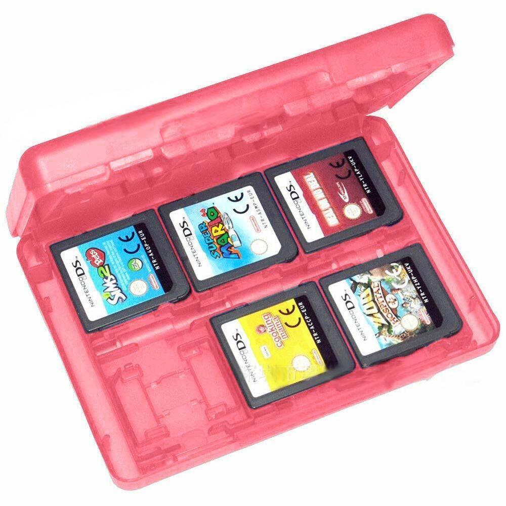 Nintendo 3ds Game Card : In game card case holder cartridge box for nintendo